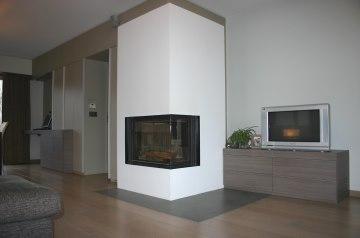 renovatie woonkamer, Diepenbeek